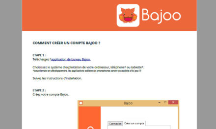 Bajoo user manual is available !